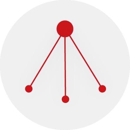 Livestreaming Icon das unidirektionalen Stream zeigt